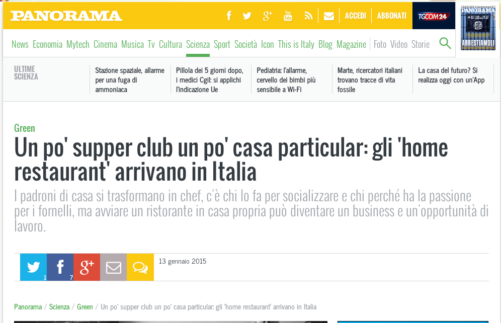 L'Home Page di Panorama.it