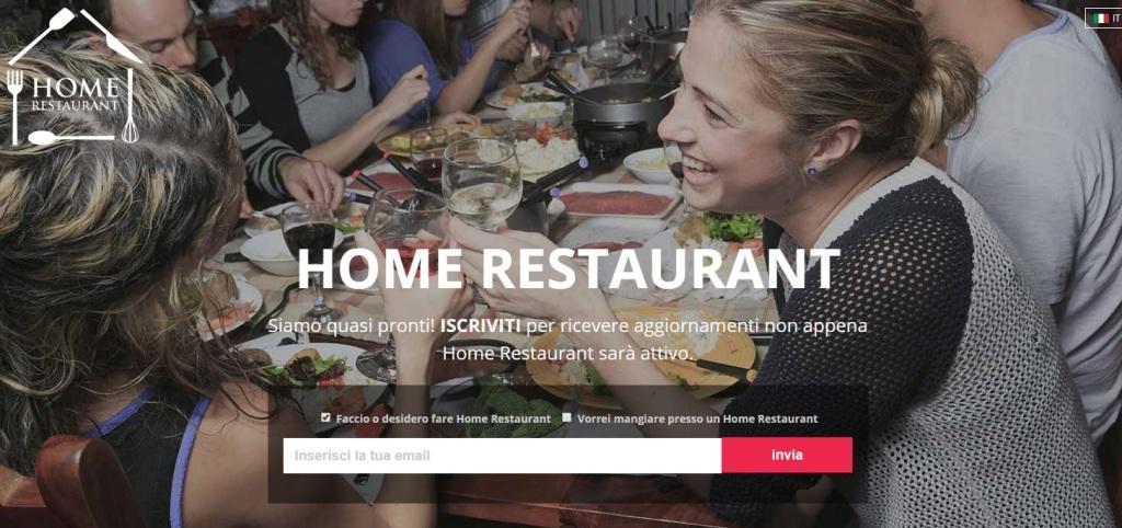 HomeRestaurant portale aggregazione