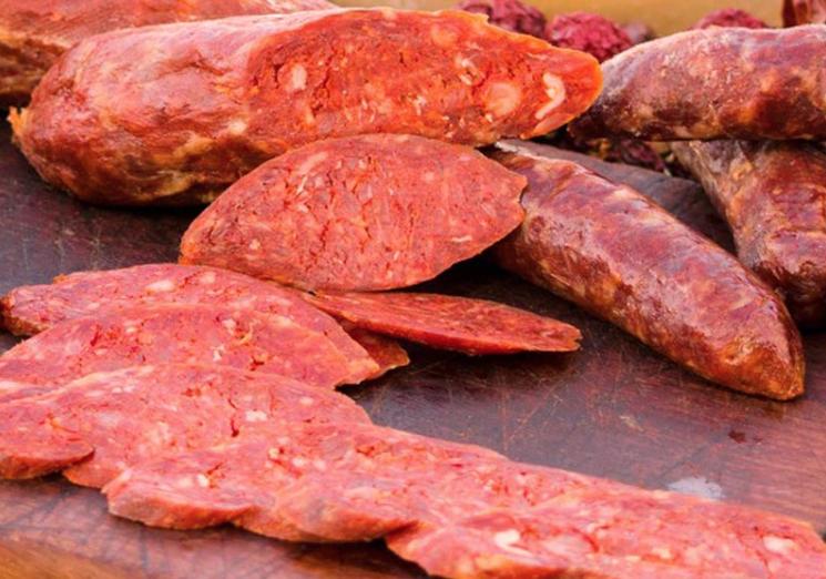 Salsiccia rossa di Castelpoto