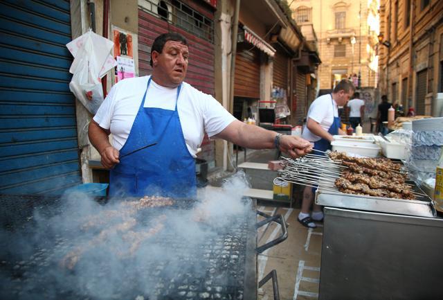 La tradizione degli stigghiolari a Palermo