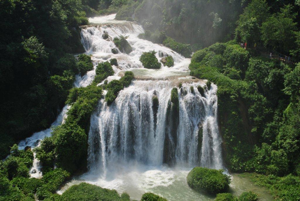 Il fiume Nera e le cascate delle Marmore