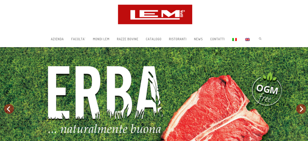 Homepage Lemcarni.it
