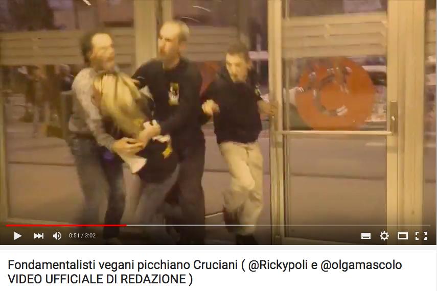 aggressione vegana