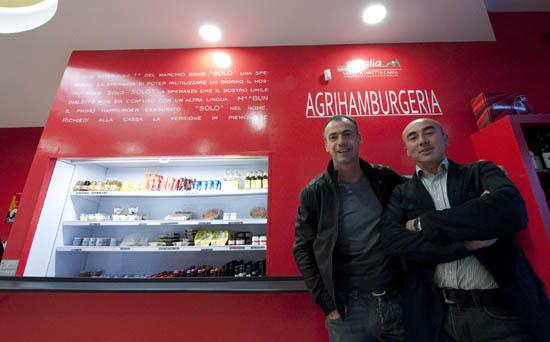 Francesco Bianco e Graziano Scaglia