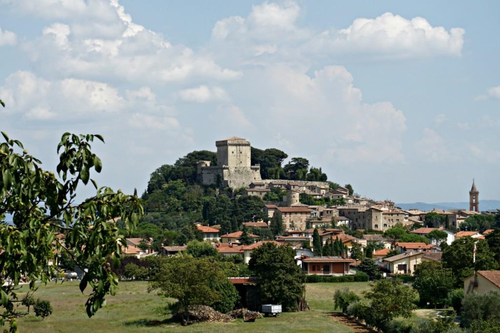 VALDICHIANA EATING, Sarteano, borgo che ospiterà l'evento