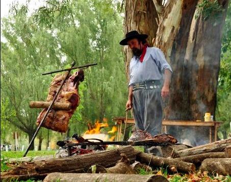 Gaucho Argentino a lavoro