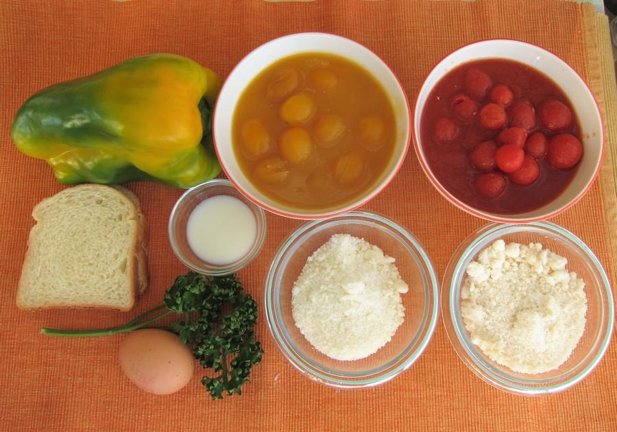 PALLOTTE CACIO E UOVA: Gli ingredienti