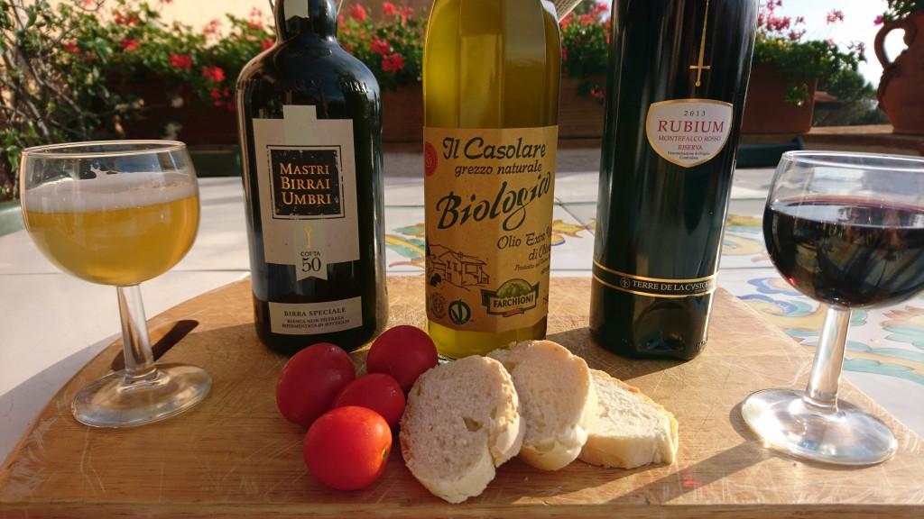 Prodotti Farchioni : Birra, Olio e Vino