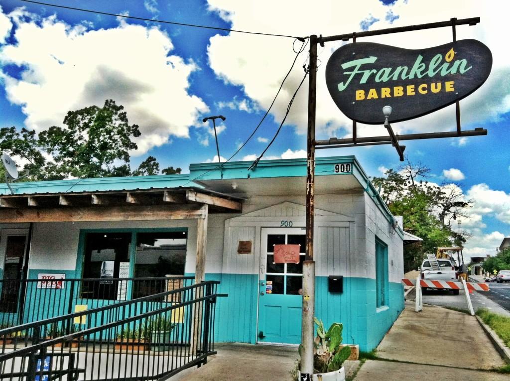 Franklin Barbecue: prima dell'incendio