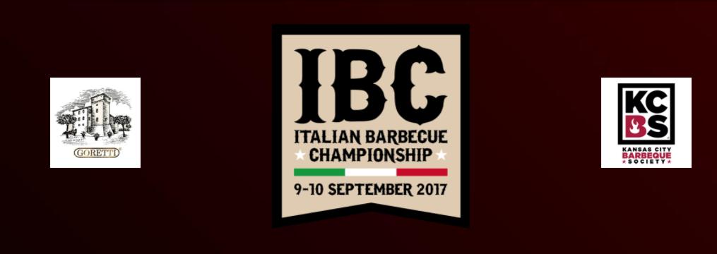 Gare barbecue in Italia - locandina IBC