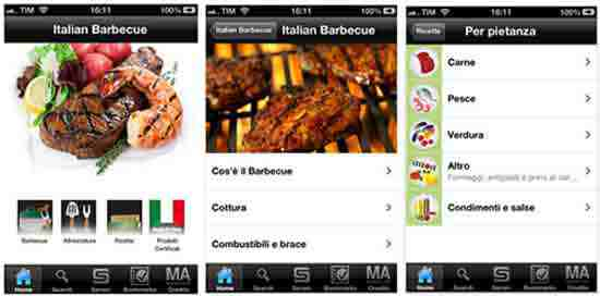 APP SUL BARBECUE: Italian Barbecue