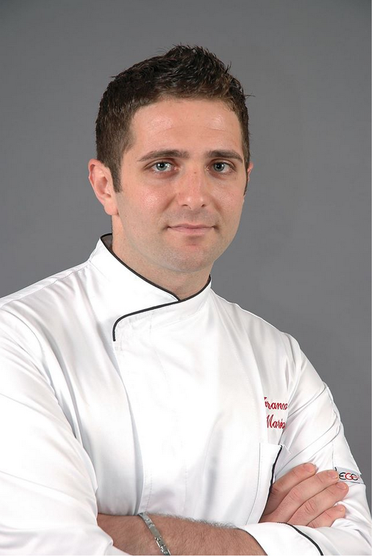Lo chef Franco Marino