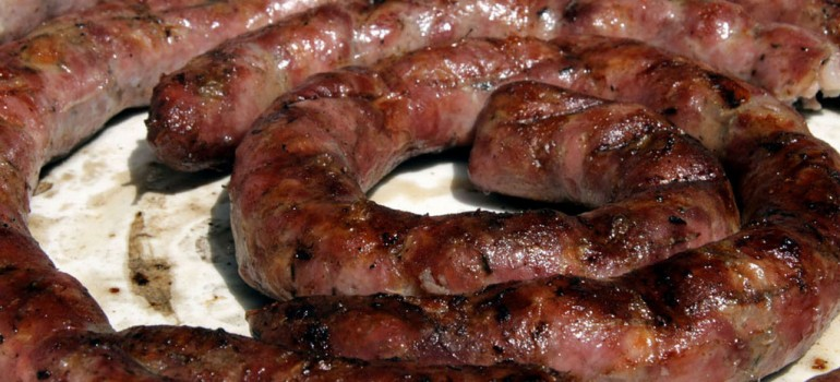 La tipica salsiccia di Carassai