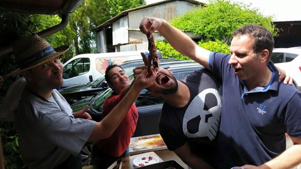 Alessio Scapin e i suoi amici carnivori incalliti