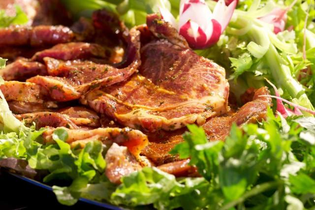 Bistecca di suino nero casertano alla griglia