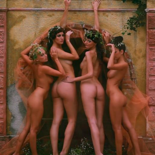 Le modelle del video