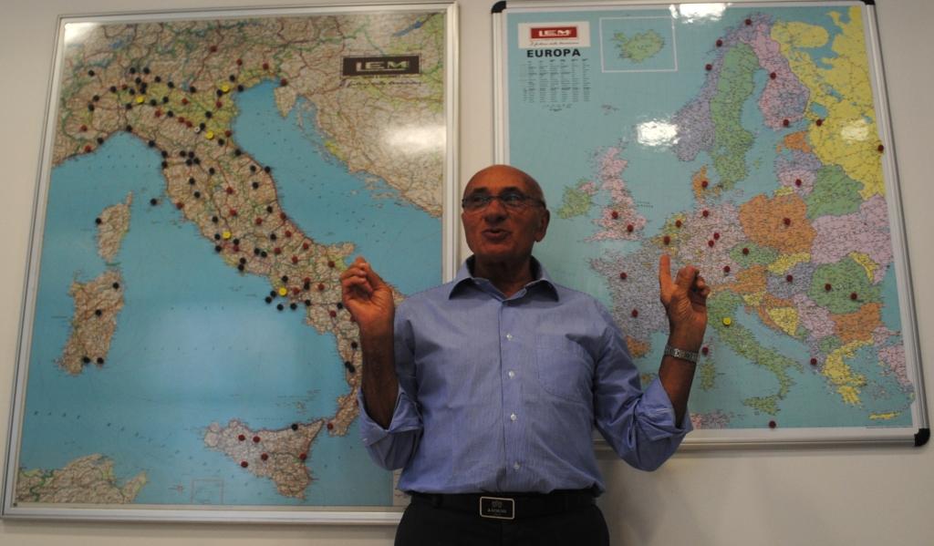 Giambattista Lama: Lem in Italia e Europa