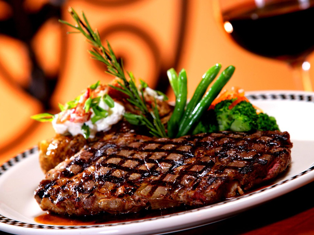 Bistecca al ristorante