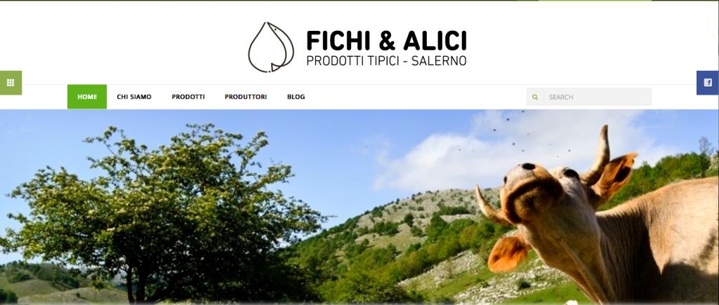 FICHI&ALICI CONSEGNA PRODOTTI SALERNITANI IN TUTT'ITALIA - Homepage