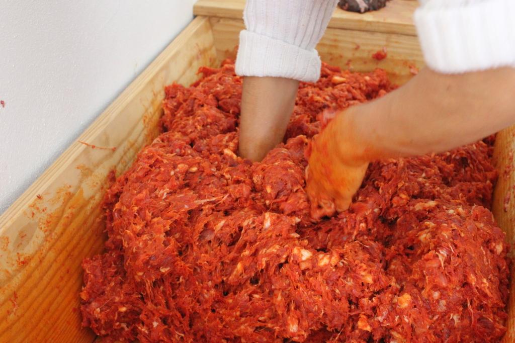 Salsiccia - Impasto del zazicchiu
