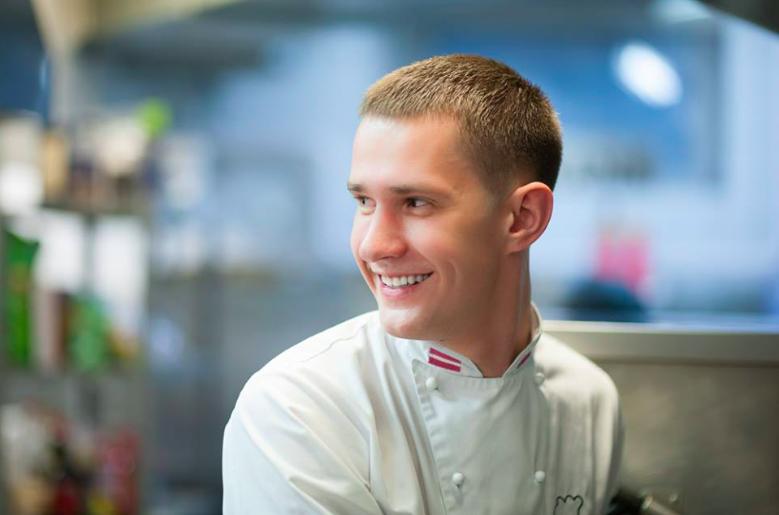 Lo chef Maris Astics