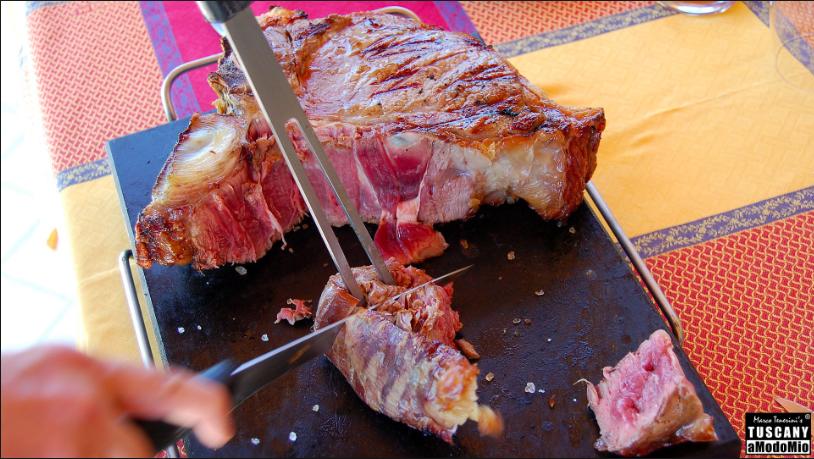 LA GEOGRAFIA DELLA CARNE ITALIANA - bistecca Maremanna