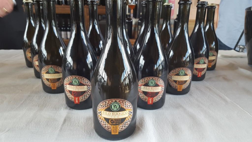 La birra con mosto d'uva - Filo Rosso e Filo Bianco