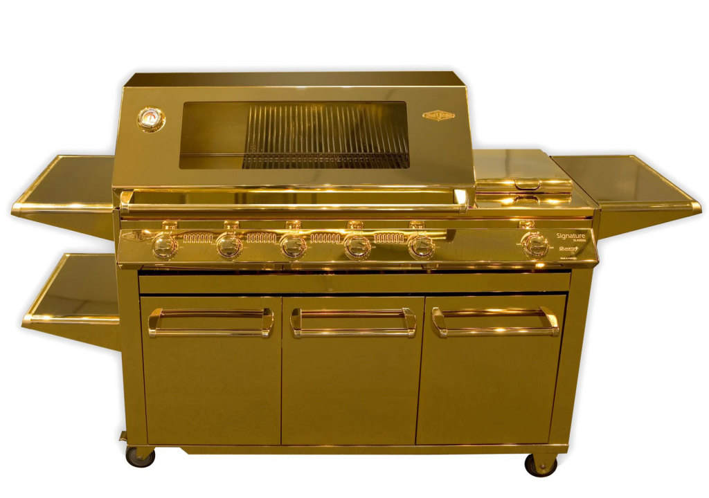 Beefeater-24-Carat-Gold-Plated-Barbecue-1