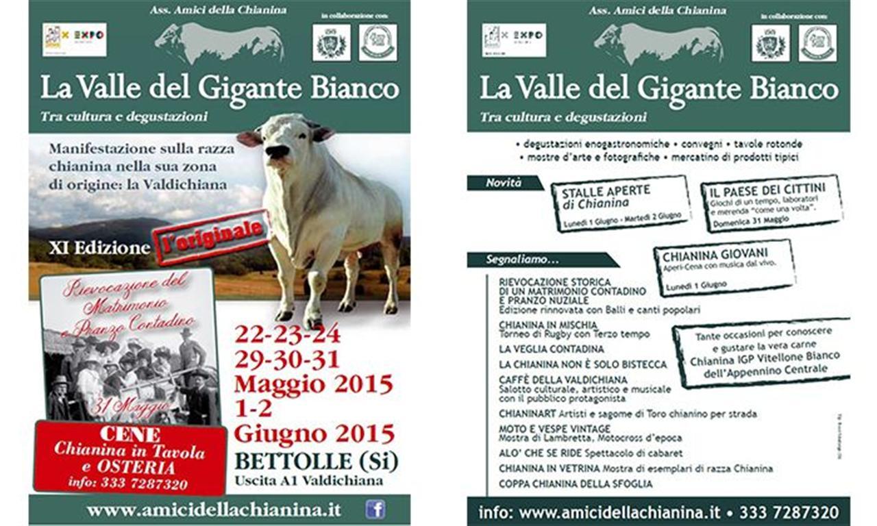 Razza chianina - La valle del Gigante Bianco Edizione 2015
