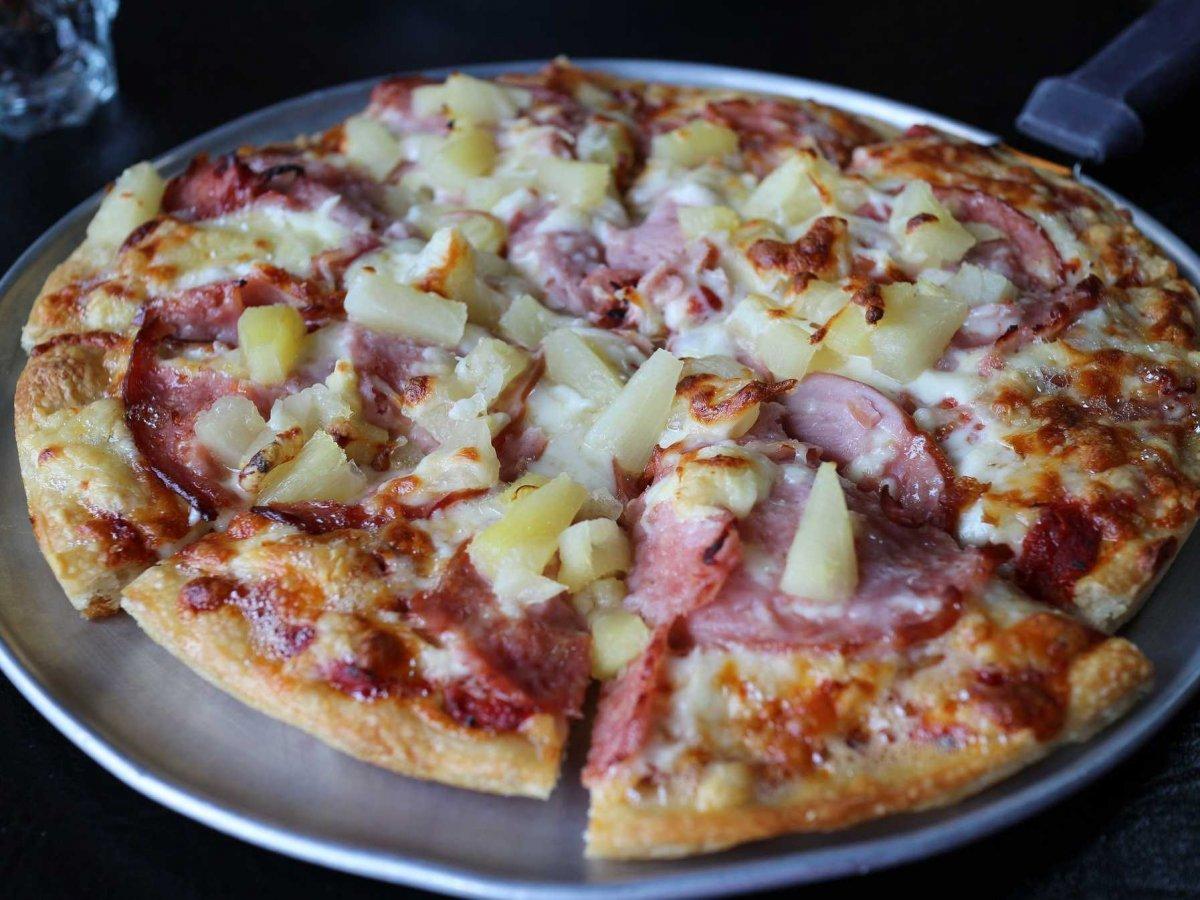 PIZZA ALL'ESTERO: HAWAII