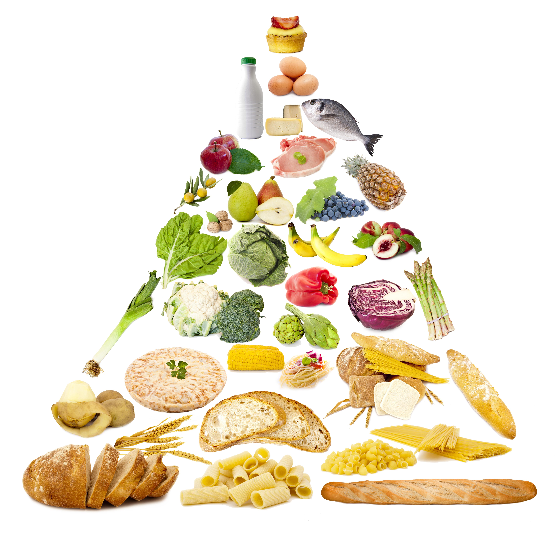 LA CARNE E' SOSTENIBILE - piramide alimentare