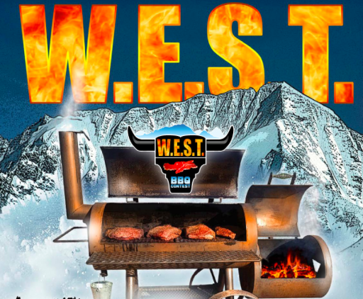 WEST BARBECUE ESTREMO - la locandina