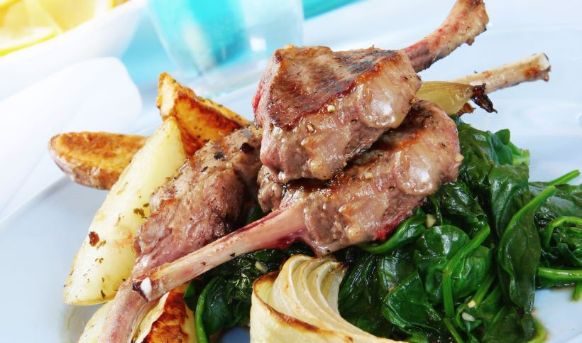 pork-meat-with-potatoes-and-green