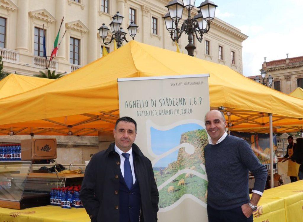 Il Presidente Battista Cualbu e il direttore Alessandro Mazzette - Con.T.A.S.