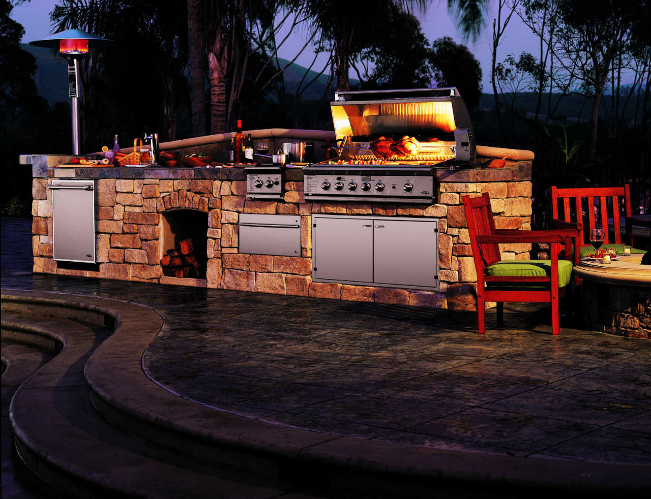 Barbecue in muratura in giardino che permessi servono - Bbq da giardino ...