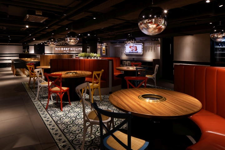 steakhouse arredamento design nikuya japan bbq