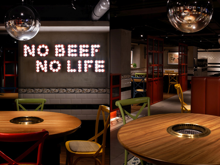 STEAKHOUSE JAPANESE DESIGN INTERIOR ARREDAMENTO YAKINIKU