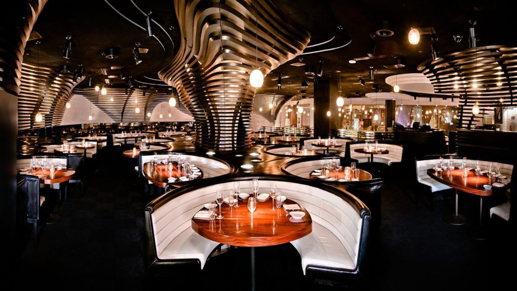 steakhouse interior design arredamento