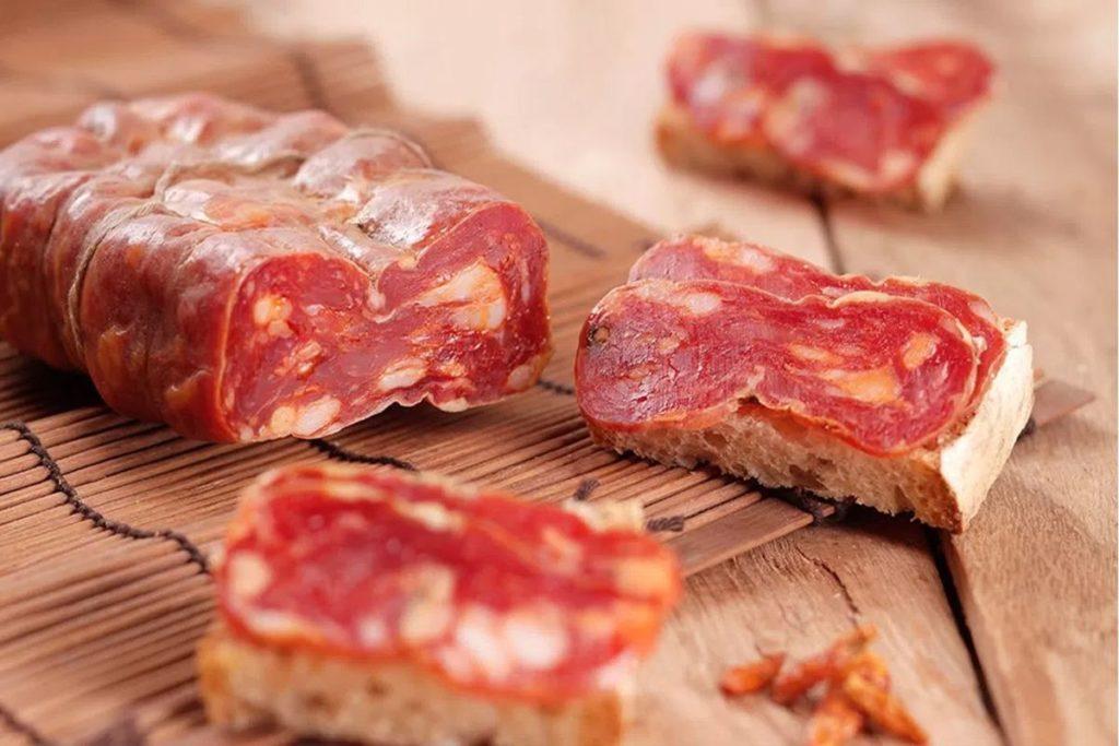 soppressata salami dop