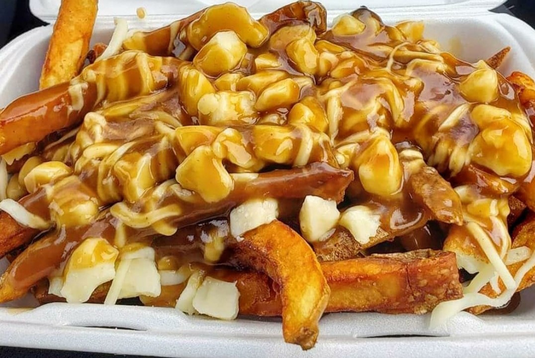 Poutine al barbecue