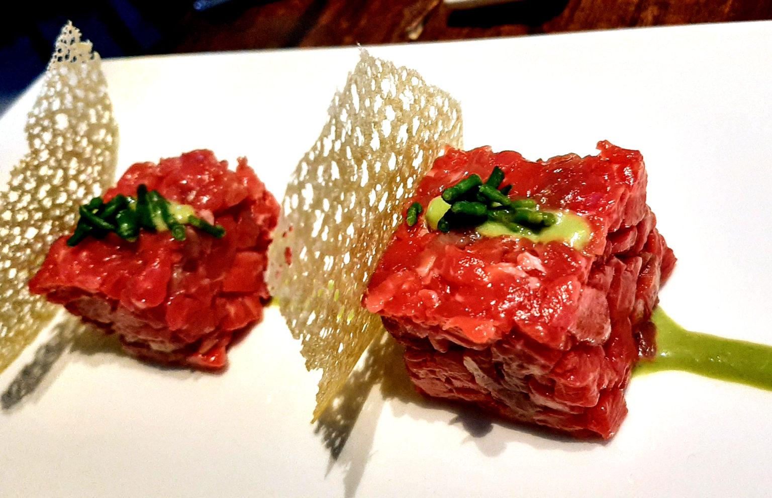 carne frollata in acqua di mare